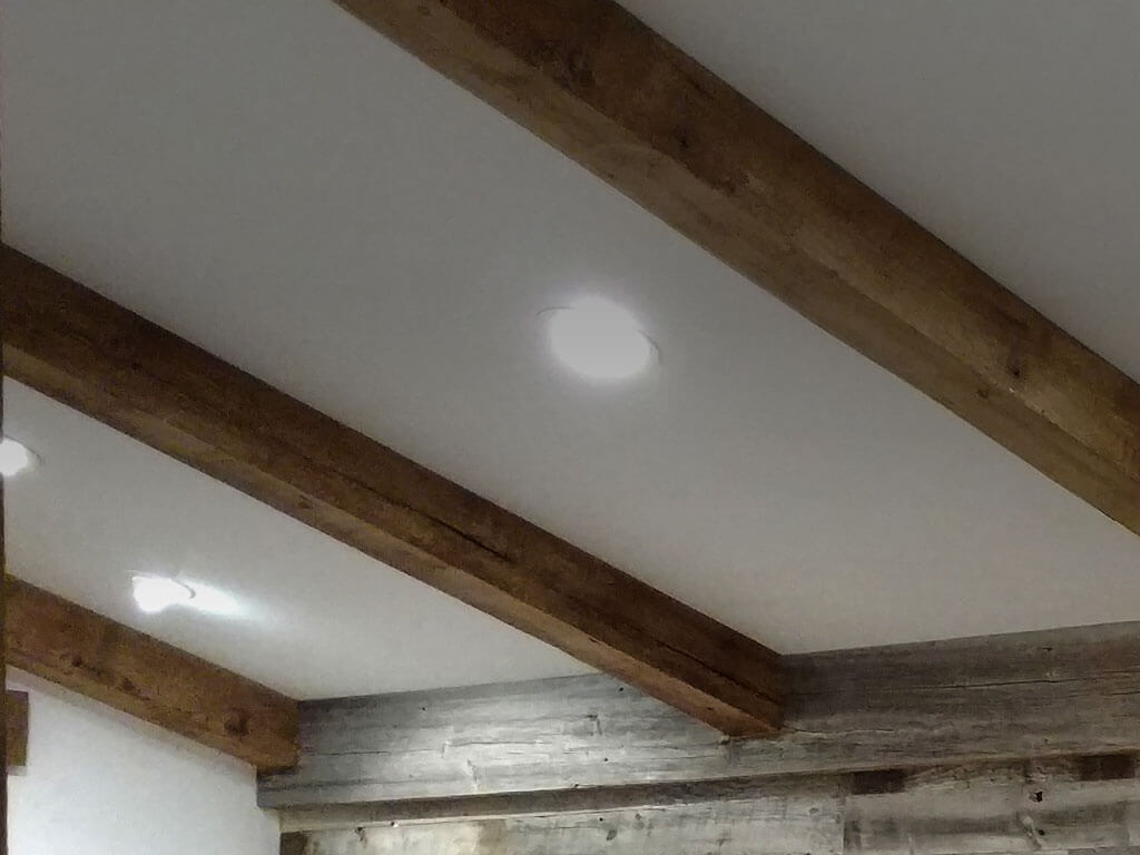 Reclaimed Wood Beams Mantles True American Grain